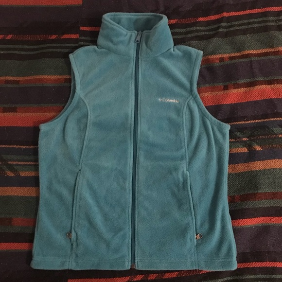 Columbia Jackets & Blazers - COLUMBIA Women's Zip-Up Fleece Vest